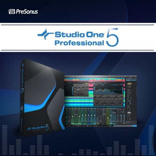 PRESONUS(스튜디오 원5) Studio One 5 Professional Upgrade (Pro/Producer all ver -> Pro 5)