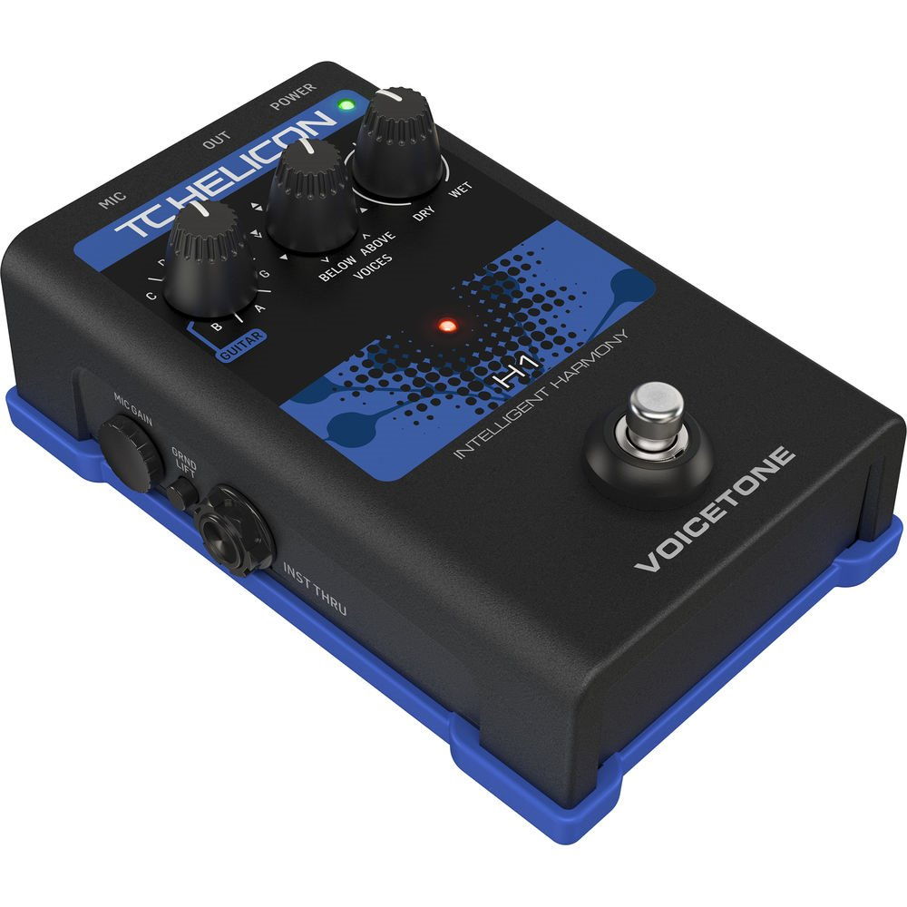 TC Helicon VOICETONE H1 이펙터