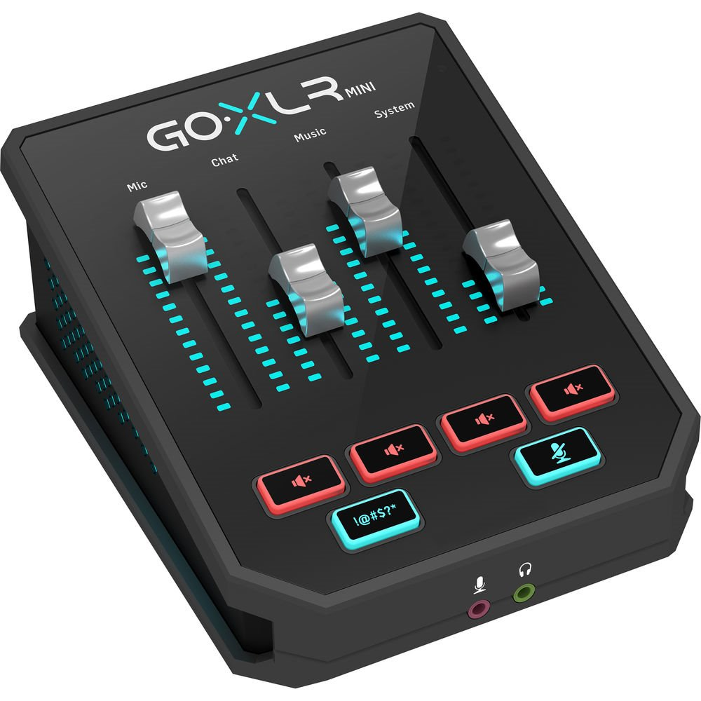 TC Helicon GO XLR Mini Online Broadcast Mixer