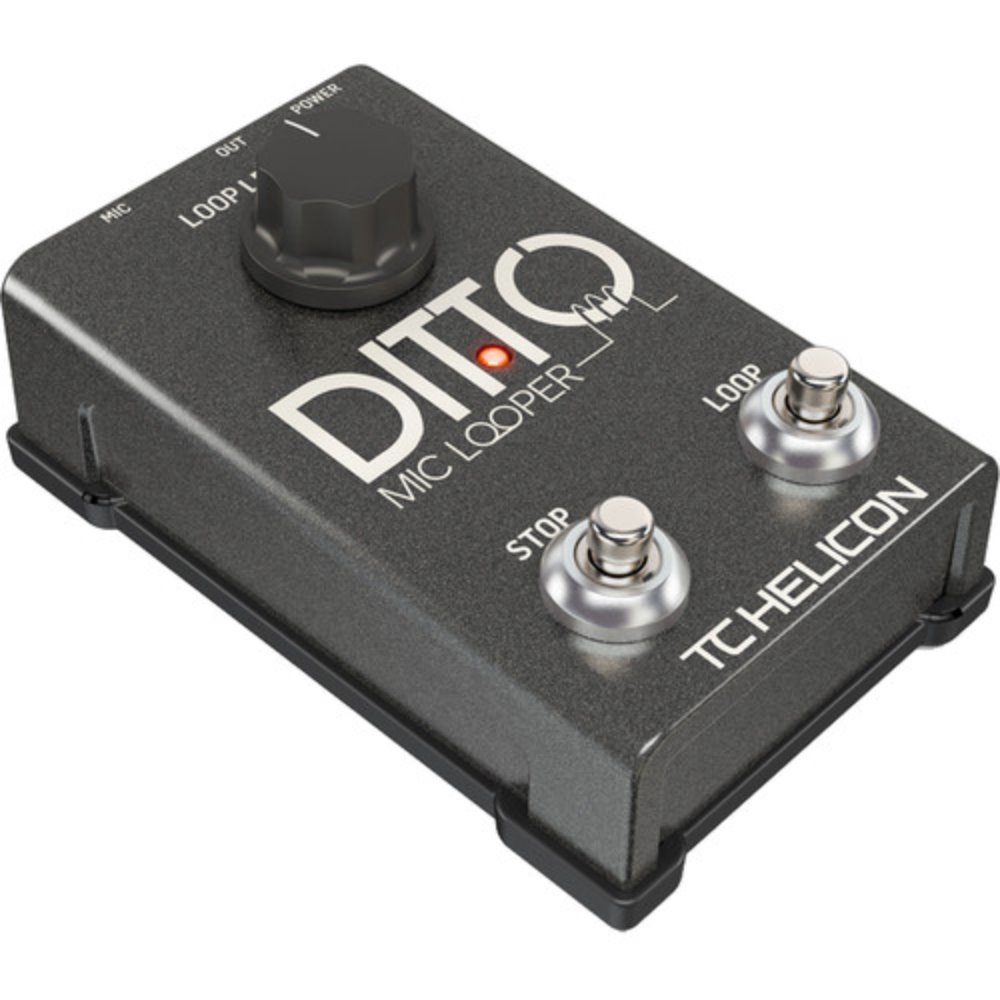 TC Helicon Ditto Mic Looper 이펙터