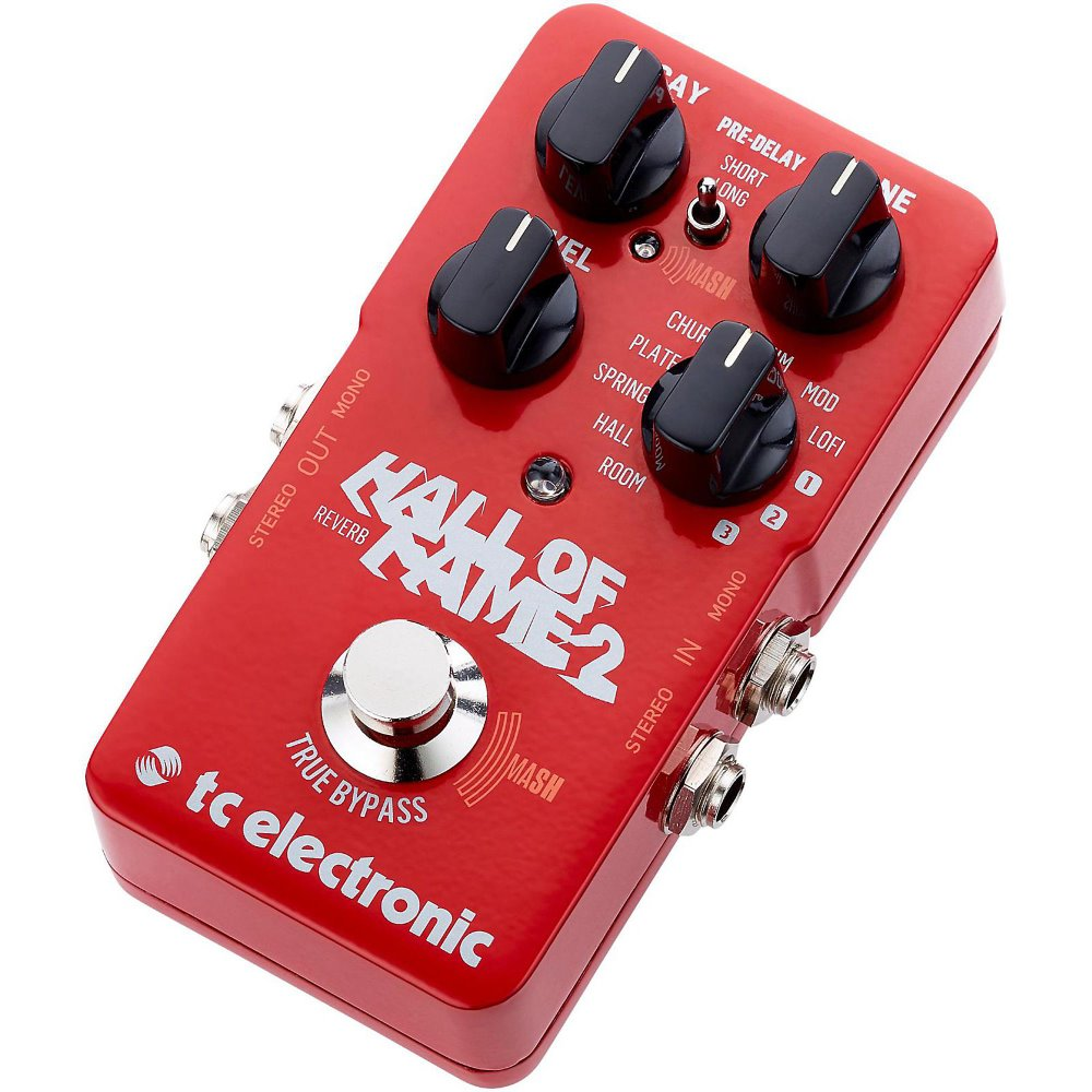 TC Electronic Hall of Fame 2 Reverb 이펙트 페달
