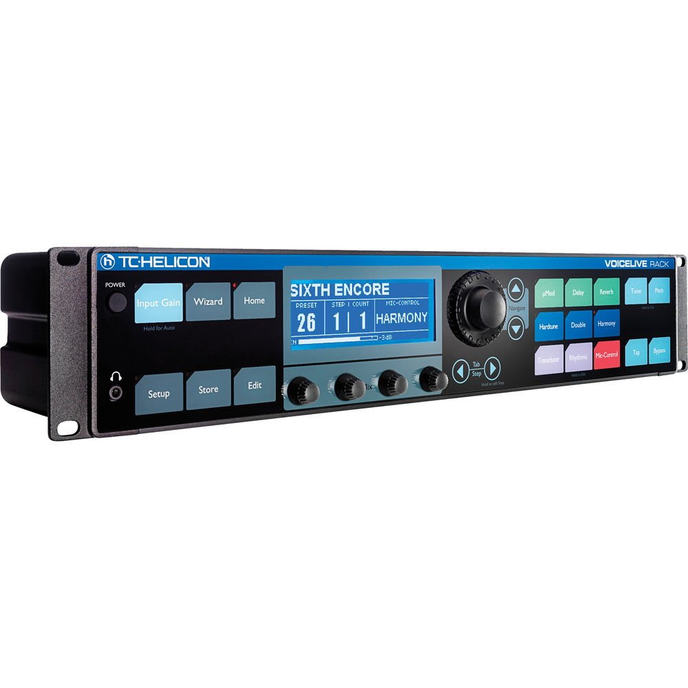 TC Helicon VoiceLive Rack 보컬 이펙터