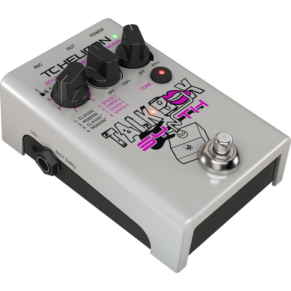 TC Helicon Talkbox Synth 토크박스 이펙터